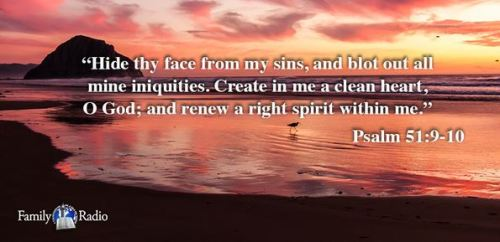 Psalm 51 9 10
