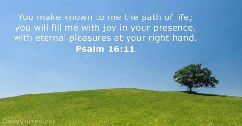 Psalm 16_11