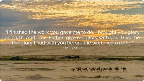 John 17_4-5