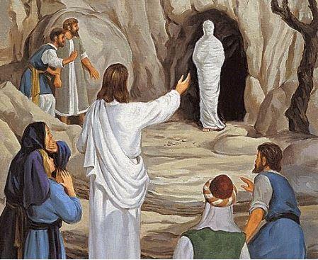 John 11_43-44