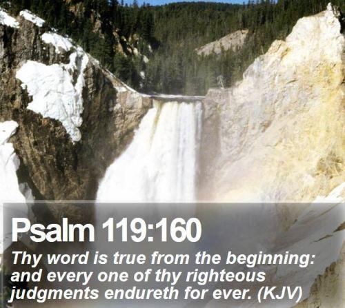 Psalm 119_160