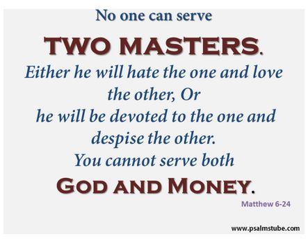 Matthew 6_24