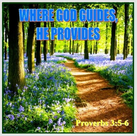Proverbs 3_5-6 Where God Guides He Provides