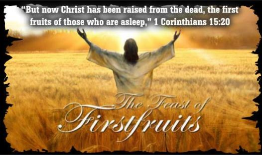 The Feast of Firstfruits