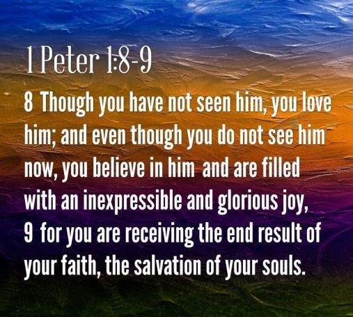 1 Peter 1_8-9