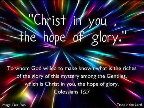 Christ in You, the Hope of Glory (2)