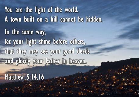 Matthew 5_14,16