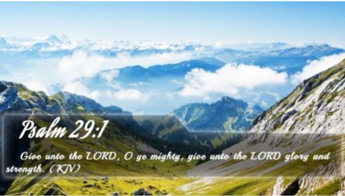 Psalm 29_1