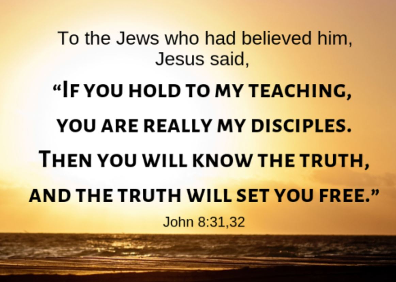 John 8_31-32
